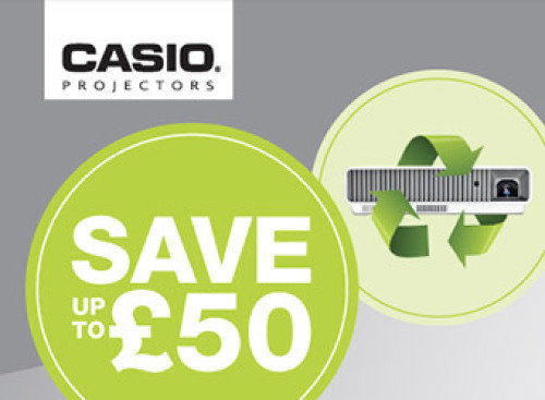 Casio Projector Cashback