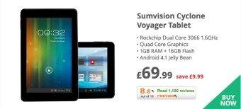 Sumvision Cyclone Tablet