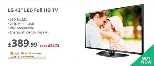 LG 42 LED Full HD TV