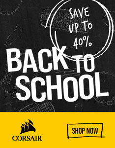 Corsair Back to School