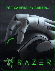 Razer - For Gamers, By Gamers