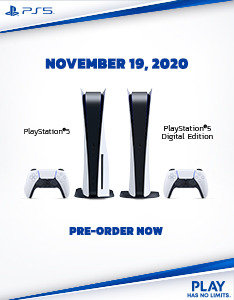 PS5 - Pre-order now
