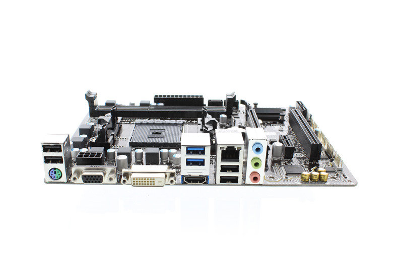 Gigabyte GA-F2A68HM-HD2 Socket FM2+ VGA DVI-D HDMI Micro ATX Motherboard