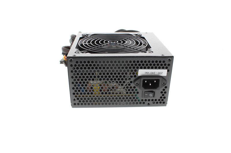 Aerocool Integrator 500W 80+ Certified PSU 12cm Black Fan Active PFC TW Caps UK Cable