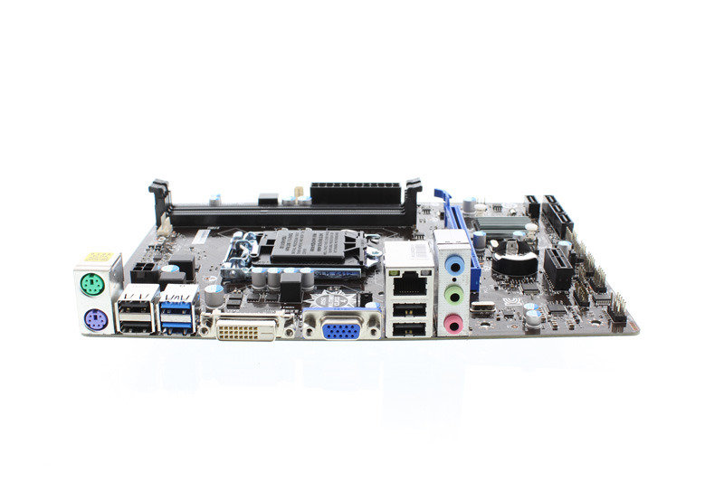 MSI H81M-P33 Socket 1150 VGA DVI 8 Channel Audio mATX Motherboard