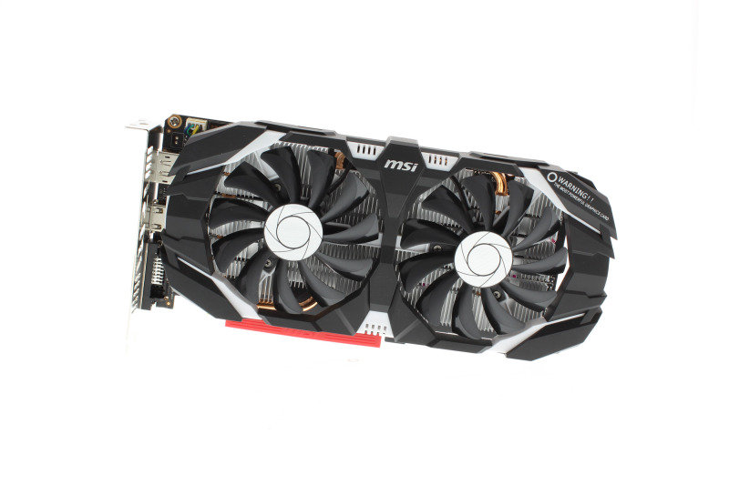 MSI GeForce GTX 1060 3GB OC GDDR5 Graphics Card