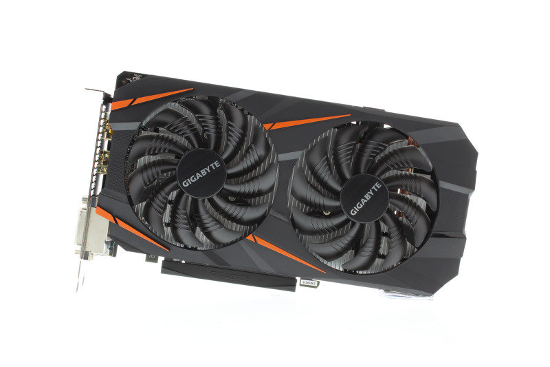 Gigabyte GeForce GTX 1060 WindForceOC 3GB GDDR5 Dual-link DVI-D HDMI DisplayPort PCI-E Graphics Card