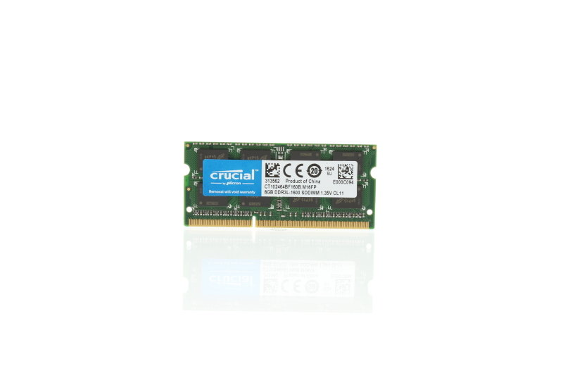 Crucial 8GB DDR3 1600 MHz Laptop Memory - CT102464BF160B