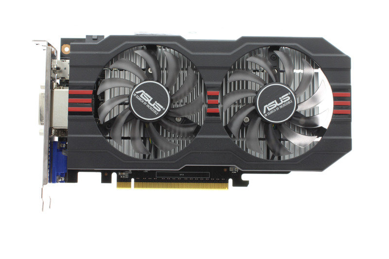Asus GeForce GTX 750 Ti OC 2GB GDDR5 Dual DVI HDMI PCI-E Graphics Card