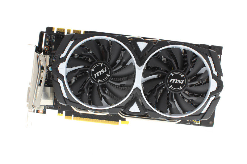 MSI GTX 1080 ARMOR OC 8GB GDDR5X Graphics Card