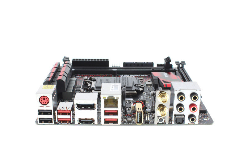 MSI Z170I GAMING PRO AC Socket LGA1151 HDMI DisplayPort 7.1-Channel HD Mini-ITX Motherboard