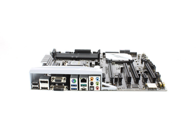 Asus Z170-A Socket 1151 VGA DVI-D HDMI DisplayPort 8 Channel Audio ATX Motherboard