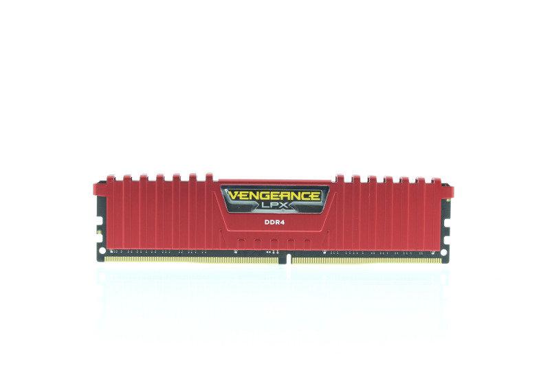 Corsair Vengeance LPX 16GB 2x8GB 3000MHz DDR4 C15 Red Memory Kit