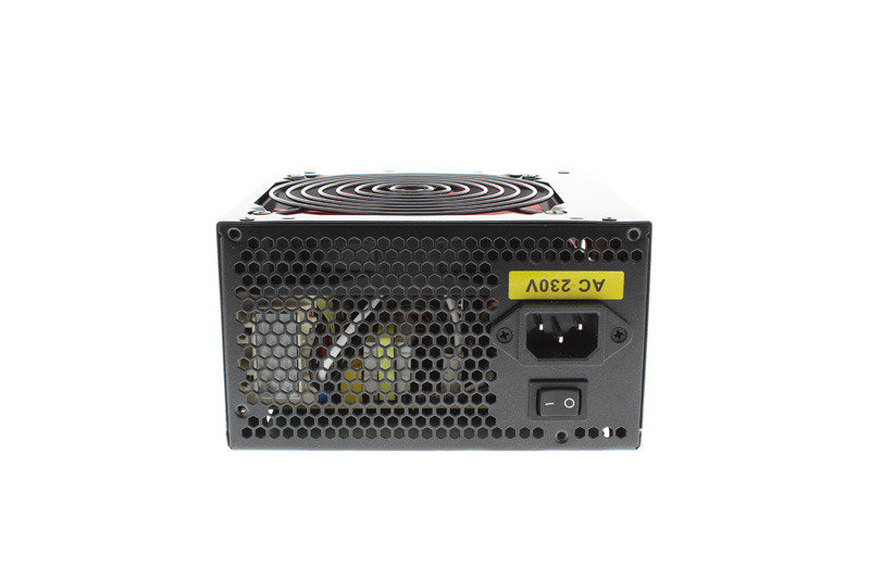 Ace Black 120mm Fan 500W Fully Wired Efficient Power Supply