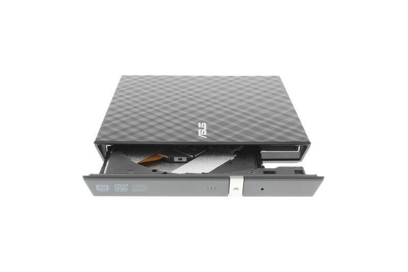 Asus External Slim 8X DVD-RW - Black