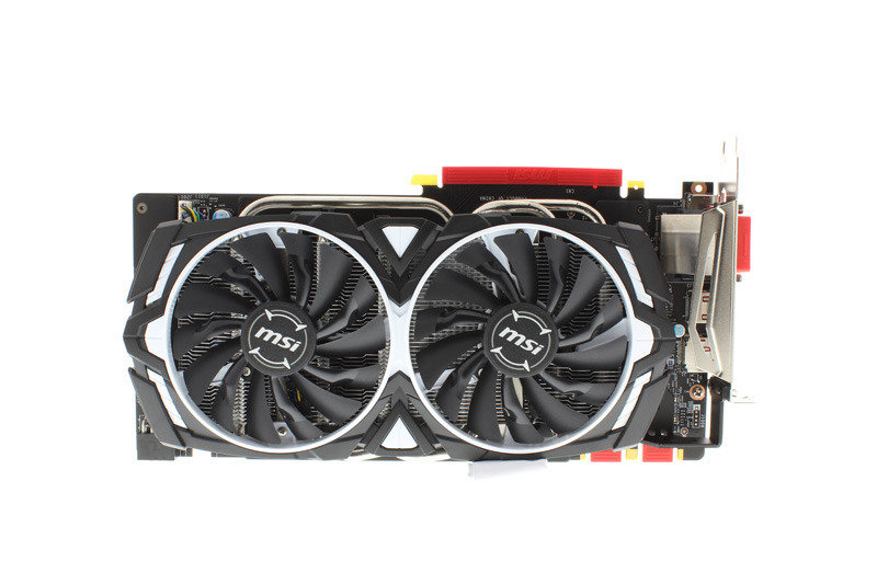 MSI GeForce GTX 1070 ARMOR 8G OC Graphics Card