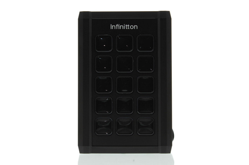 Infinitton Black Macro Screen Keyboard