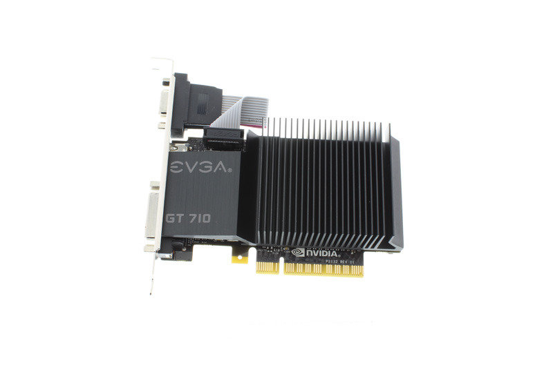 EVGA GeForce GT 710 2GB DDR3 VGA DVI-D HDMI PCI-E Graphics Card